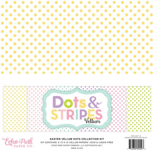 Dots & Stripes Easter Vellum