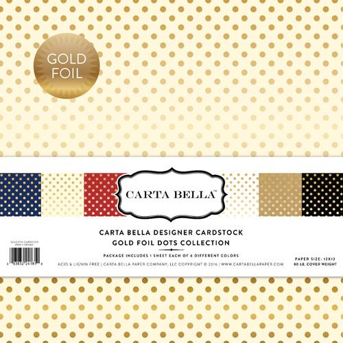 Gold Foil Dots