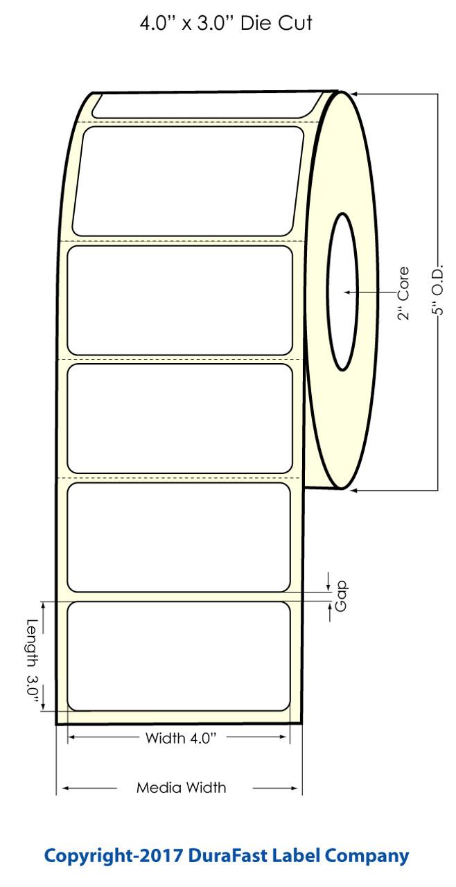 primera lx400 4 x 3 np high gloss labels labels by primera