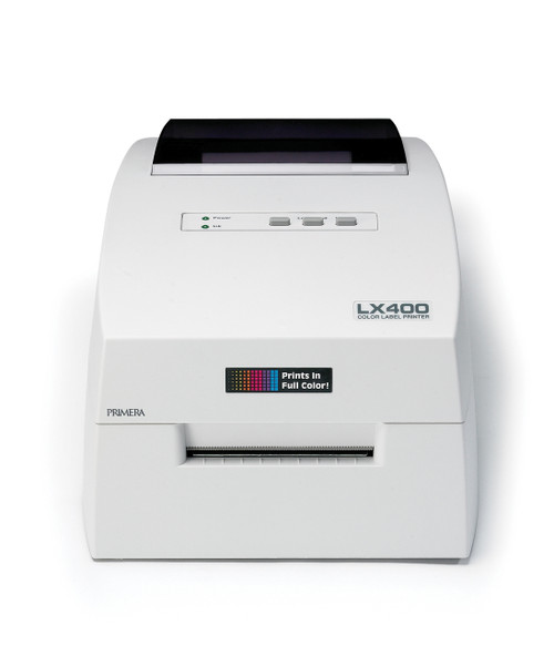 Primera LX400 Color Label Printer Is Small And Can Print Labels Up To 4