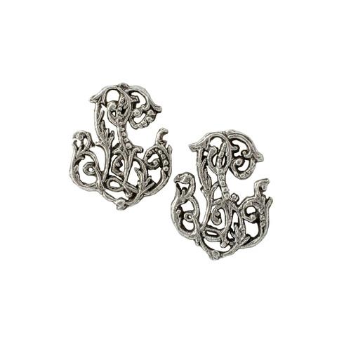 Lena (LL) - Cutout earrings