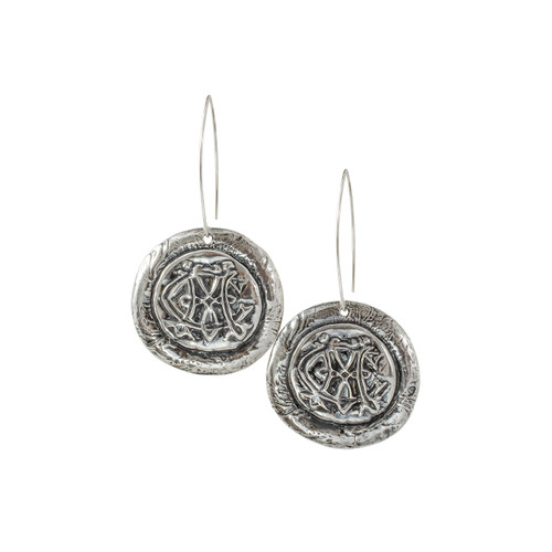 Catherine (CM) - Round earrings