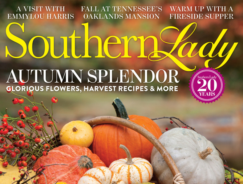 Silver Linens Jewelry featured in Southern Lady Magazine