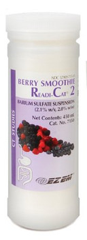 Bracco Diagnostics;   Smoothie Readi-Cat® 2 CT Oral Contrast Agent Barium Sulfate 2.1% Oral Suspension Bottle Berry Flavor 450 mL BARIUM, SMOOTHIE BERRY RC2 450ML (24/CS)