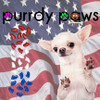 Purrdy Paws Dog and Puppy Nail Cap Covers in Combo - USA