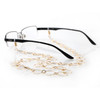 Tasha Gold Eyeglass Leash