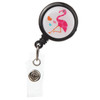 3-Pack Cute Critters Retractable Badge Reels for ID and Keys
