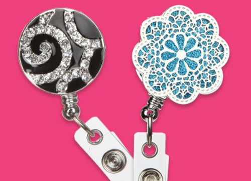 Badge Holder Jewelry for the Fashionable Businesswoman