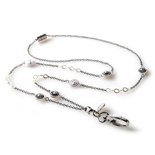 gaggifts man lanyard com necklace iron