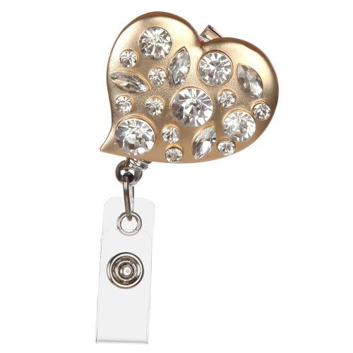 Dresden Heart Badge Reel