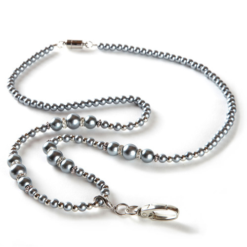 necklace filigree silver double holder open lanyard id card products with heart antiqued badge