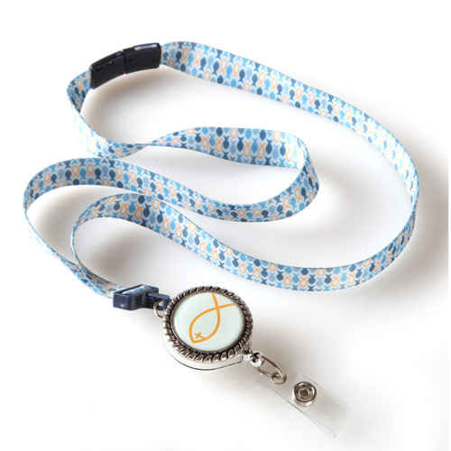 Fish Ribbon Lanyard