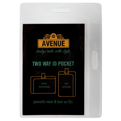 Bi-Way ID Pocket