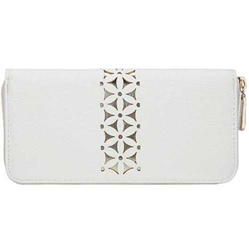 Tangier White Moroccan Wallet