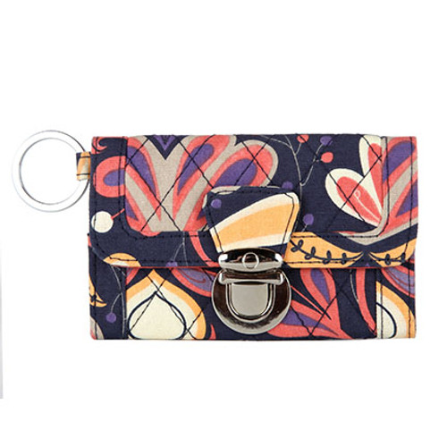 Tangier Quilted Clutch Wallet