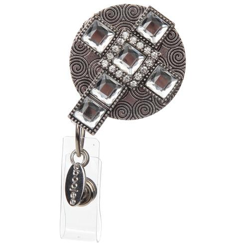 Shine Cross Badge Reel