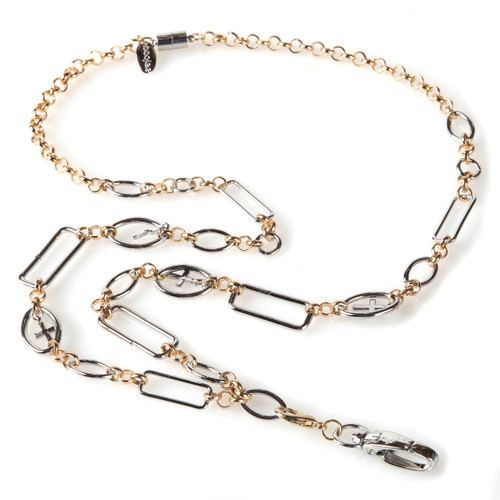 Anna Cross Chain Lanyard