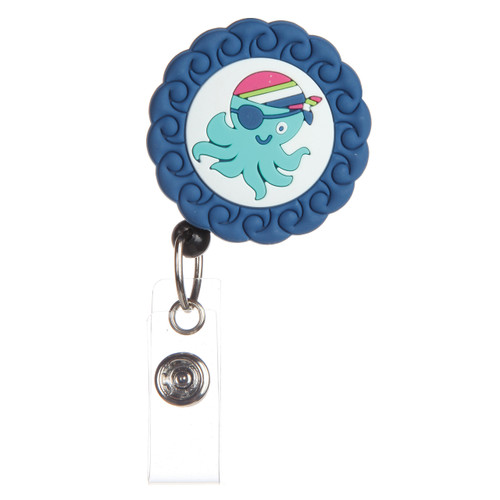 Octopus Badge Reel