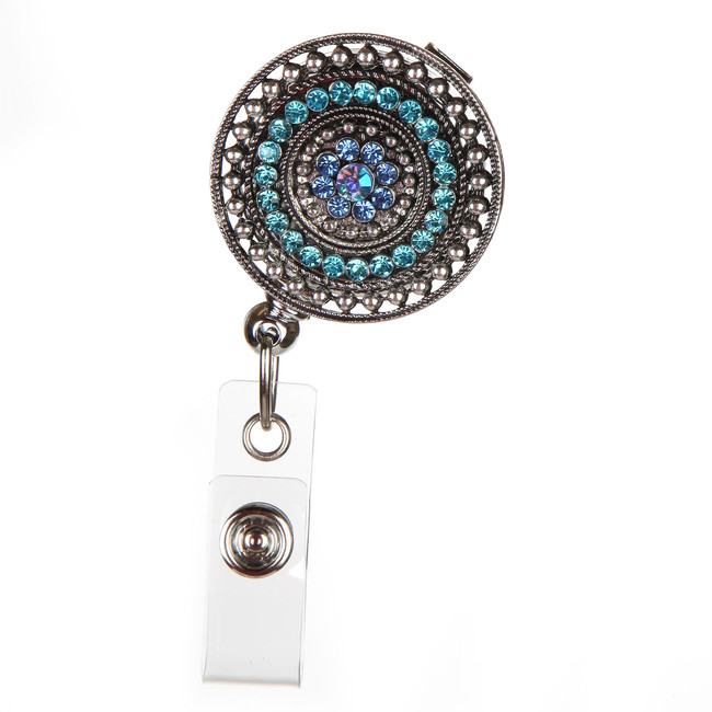 Razzle Dazzle - Teal Fashion Badge Reel