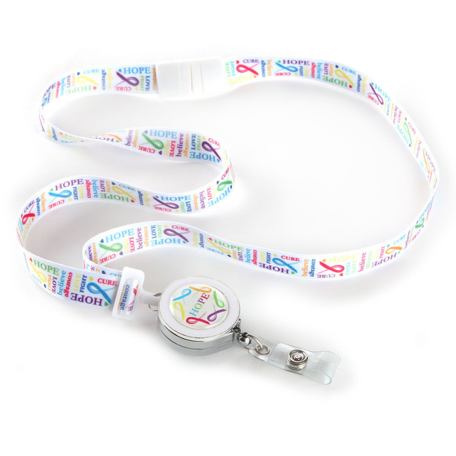 Love Ribbon Lanyard