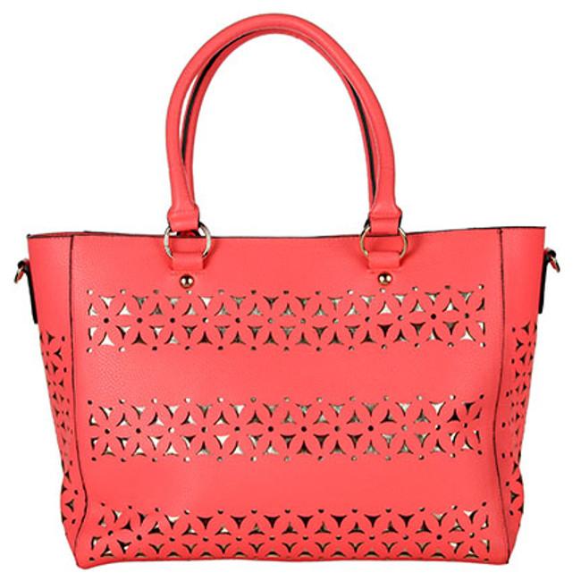 Tangier Coral Moroccan Bag
