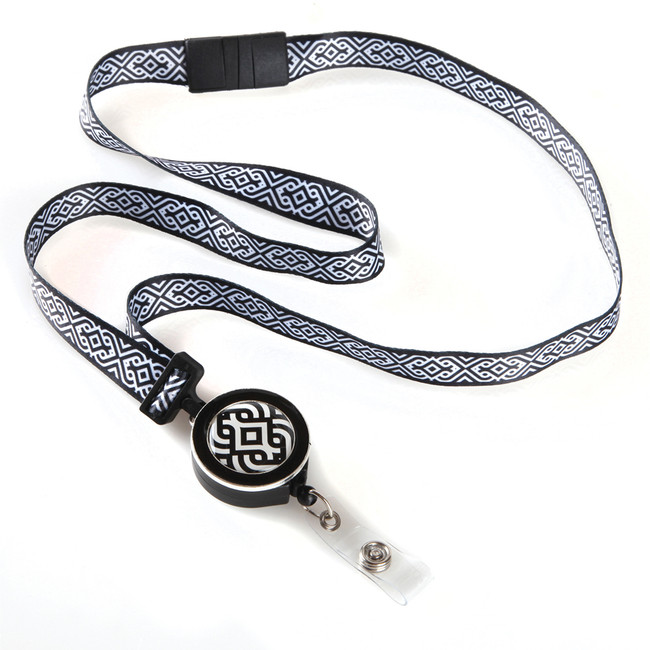 Scroll Ribbon Lanyard