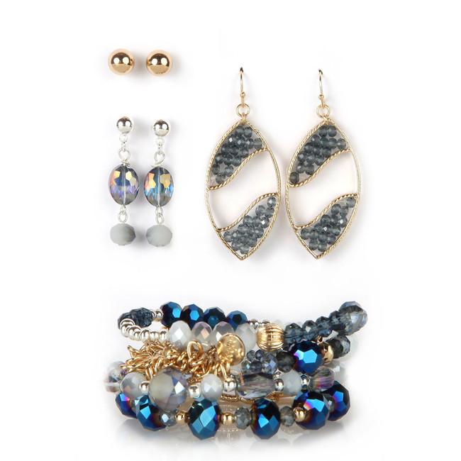 Blues Tonight Bracelet & Earring Set