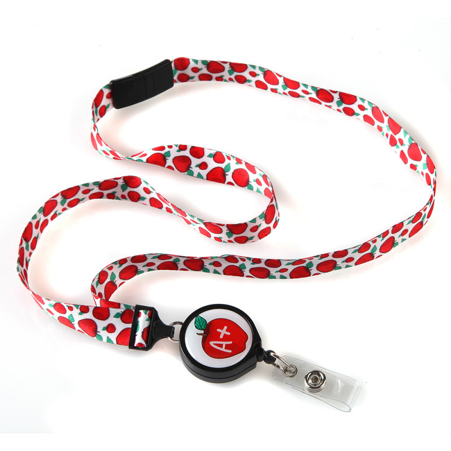 A Plus Ribbon Lanyard
