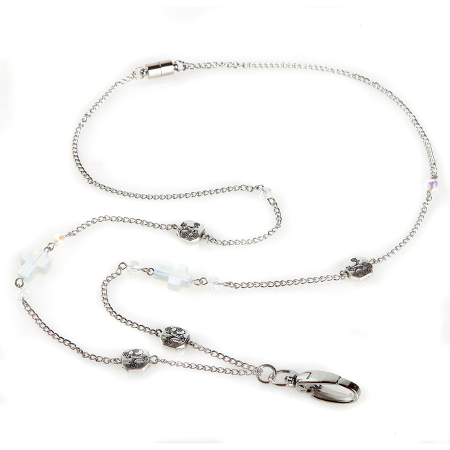 Acacia Cross Chain Lanyard