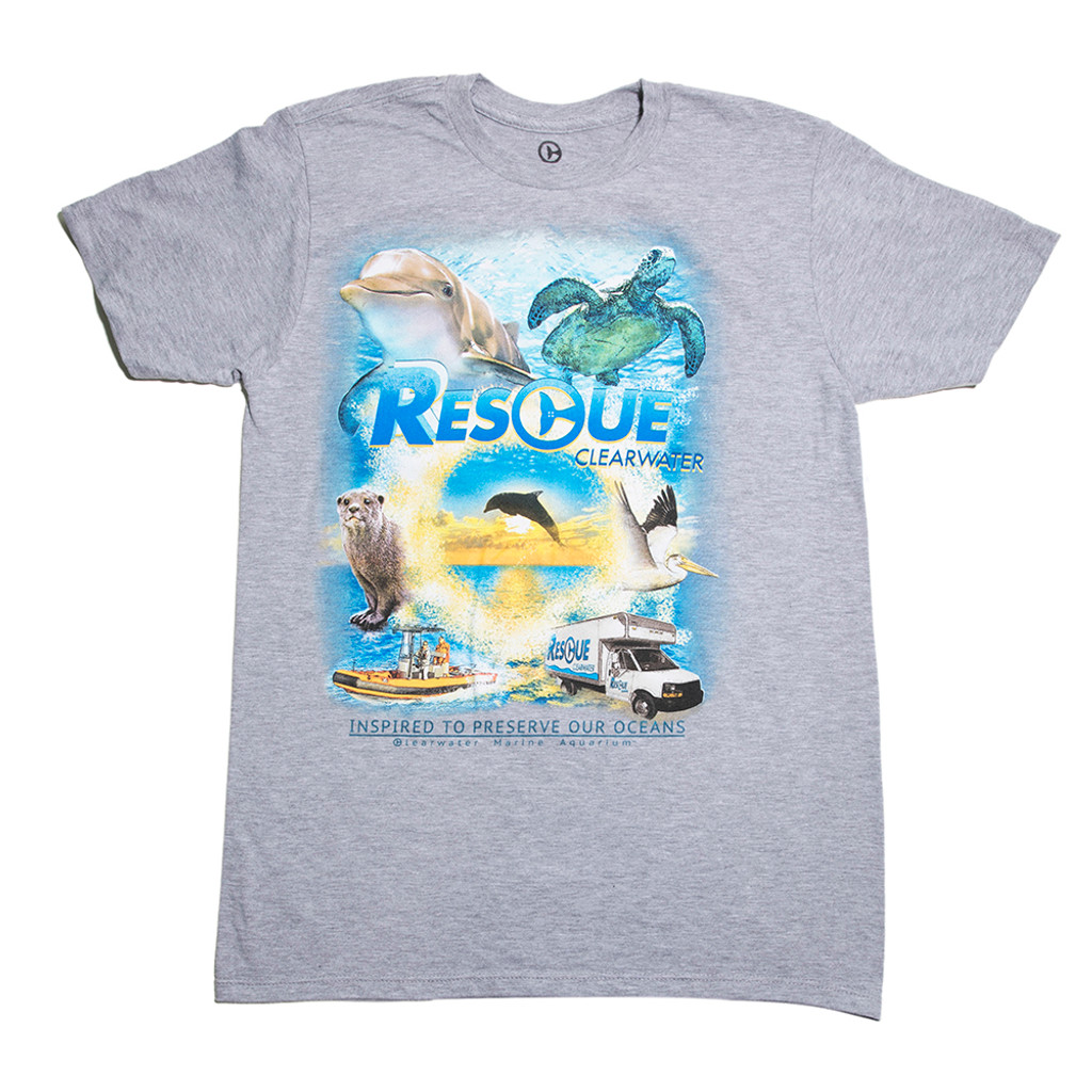 Rescue Clearwater Poster Men's Tee