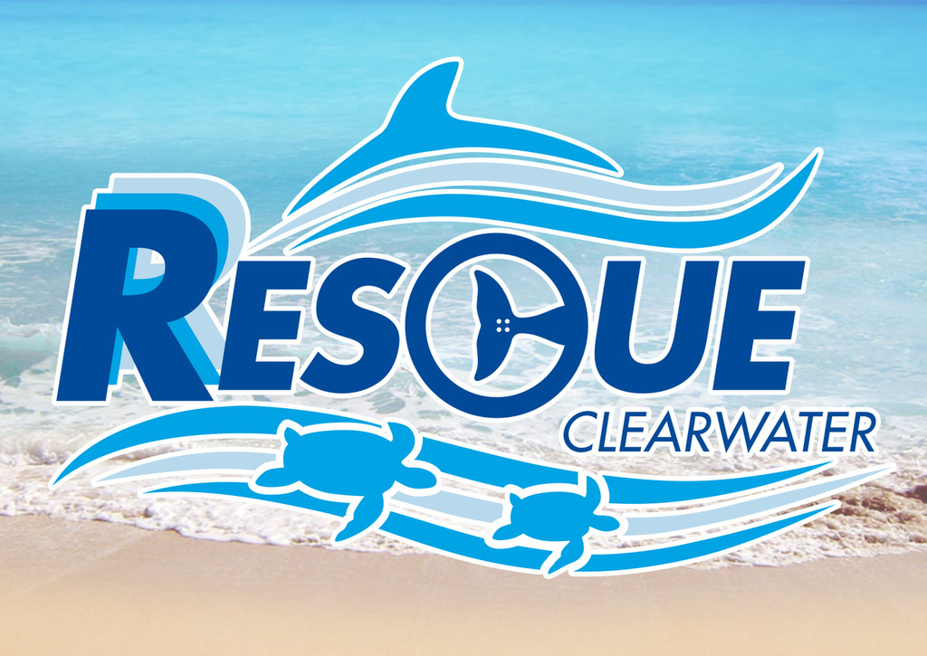 Rescue Clearwater Rectangle Magnet