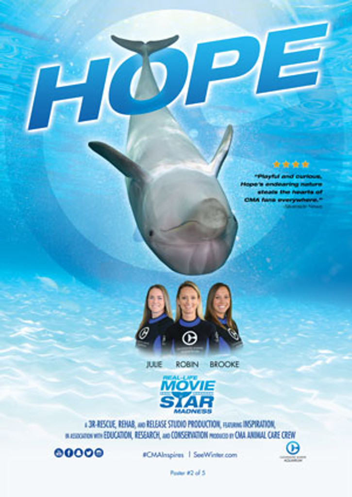 Hope Real Life Movie Star Poster