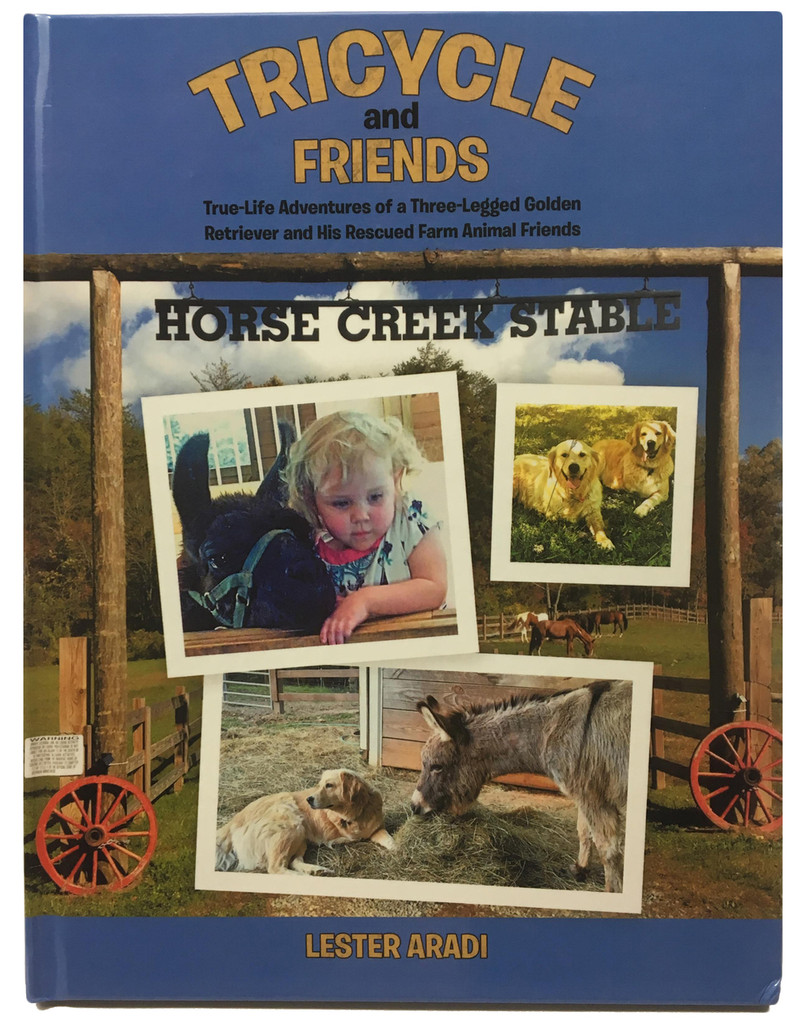 Tricycle & Friends Book - Hardback