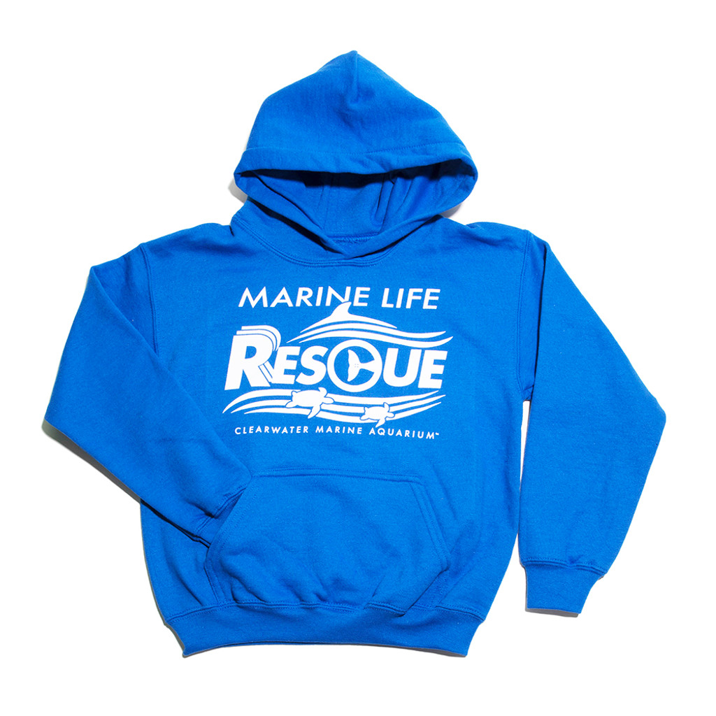 Clearwater Marine Aquarium Rescue Fleece Pullover Hoodie - Youth