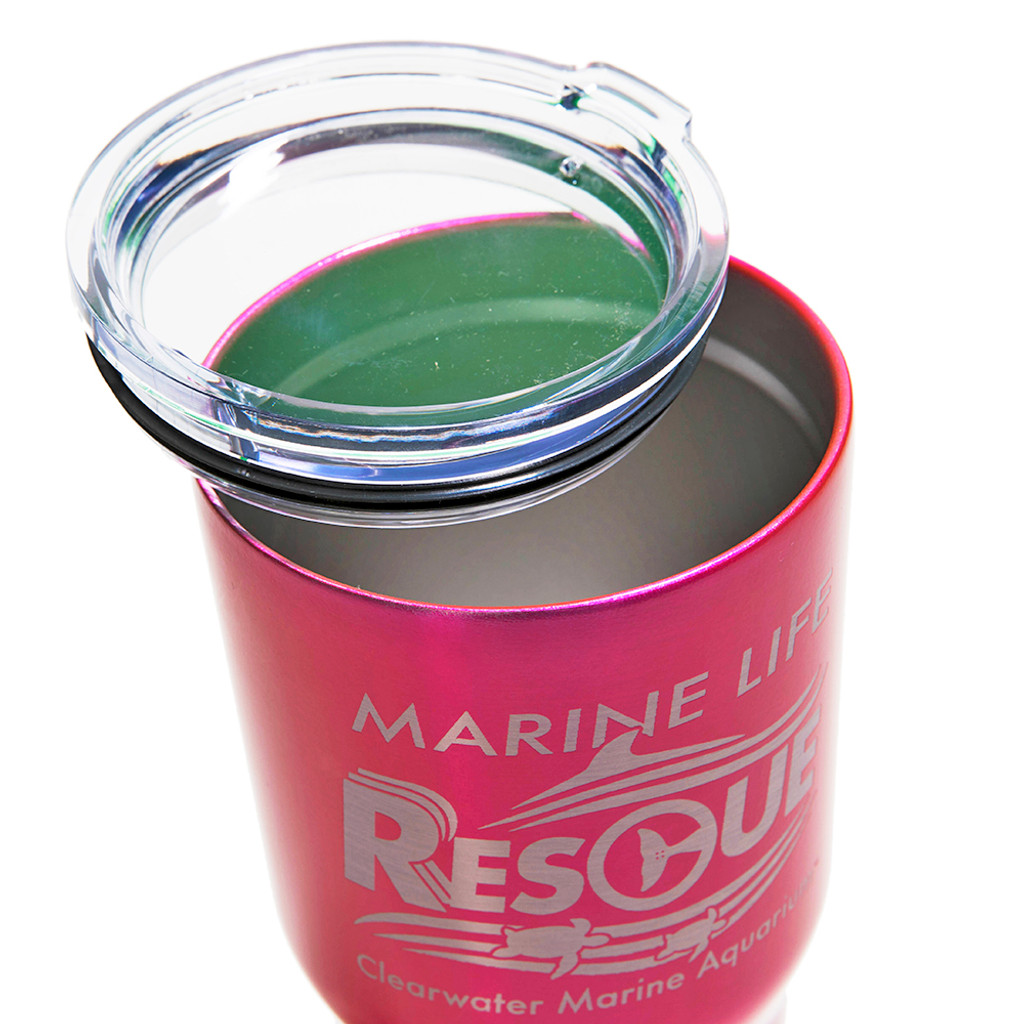 Rescue Authentic Glitter Stainless Steel Insulated Tumbler
