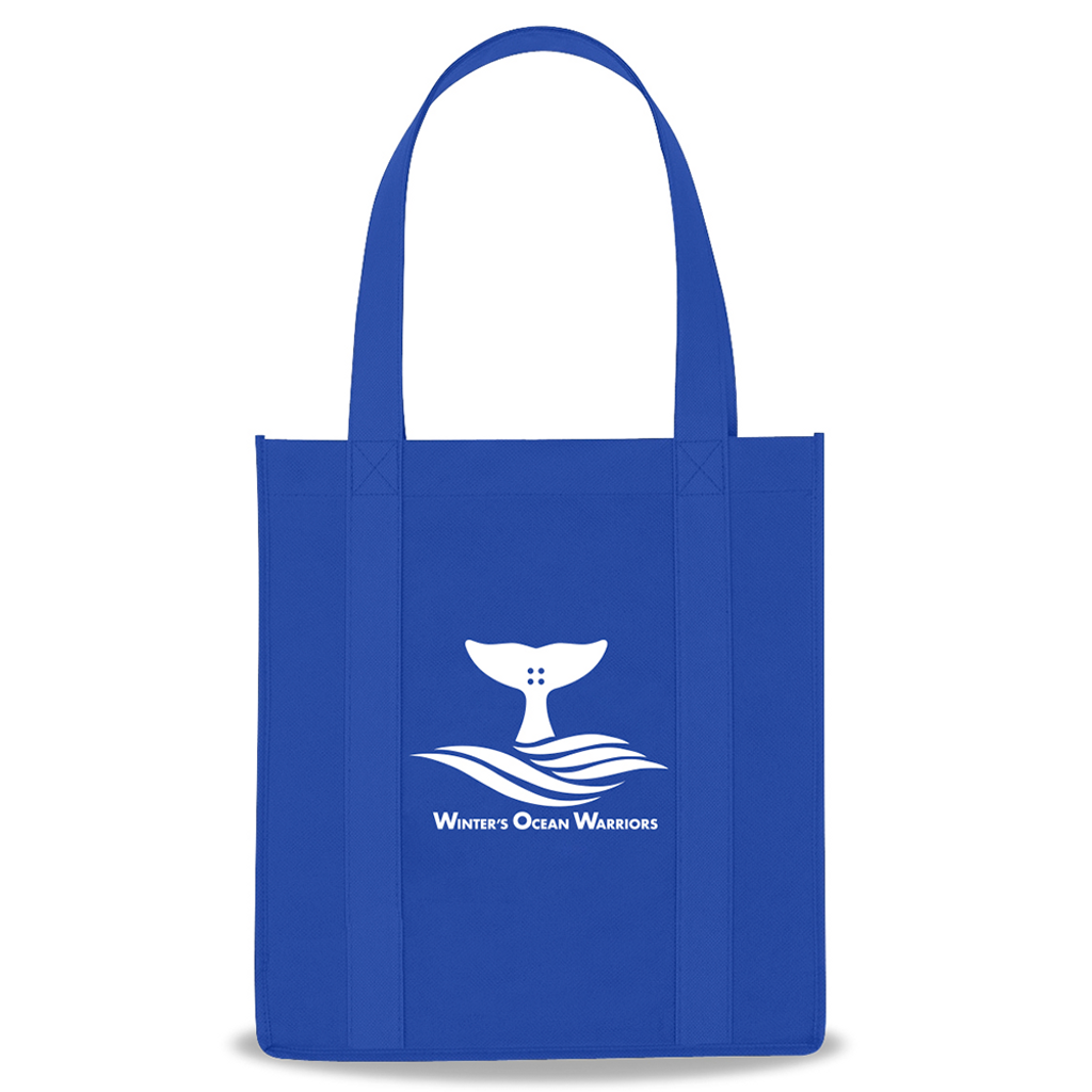 Winter's Ocean Warriors Reusable Shopping Tote Bag