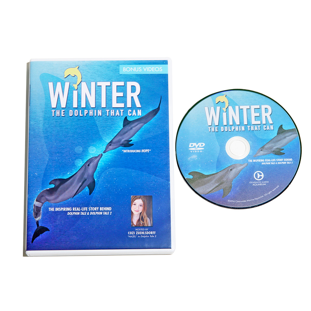 Winter, The Dolphin That Can - Documentary DVD