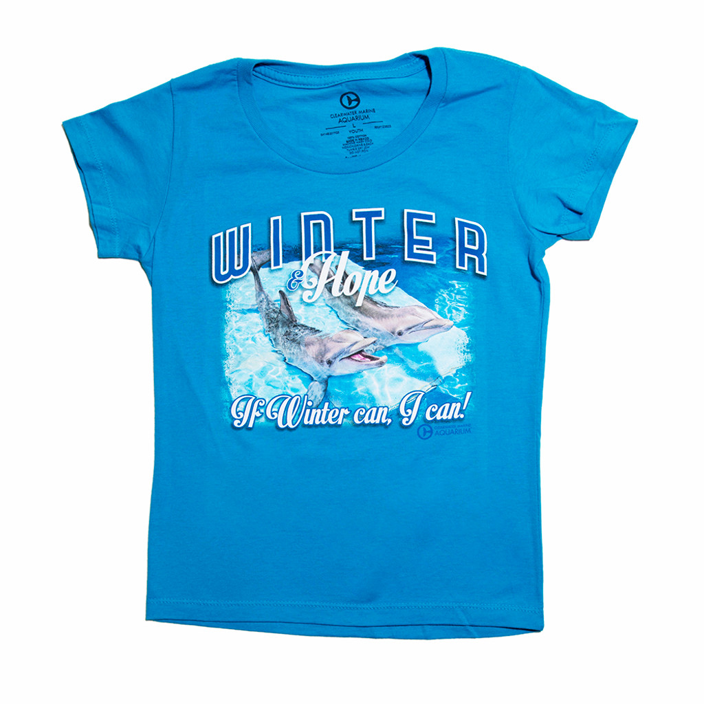 If Winter Can Hope Girls\' Tee | Clearwater Marine Aquarium