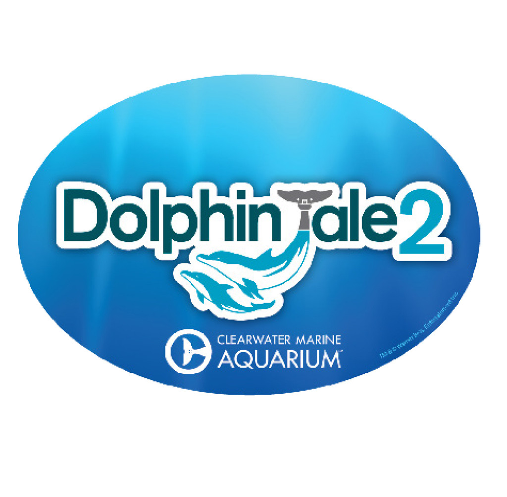 Dolphin Tale 2 Logo Car Magnet