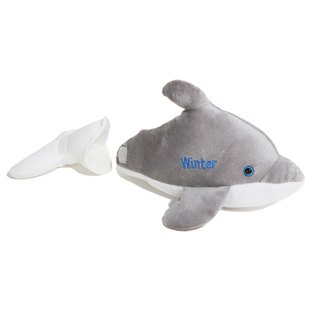 Winter the Dolphin Removable Tail Plush