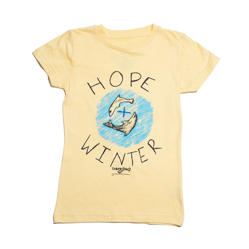 Dolphin Tale 2 Winter & Hope Rally Girls' Tee