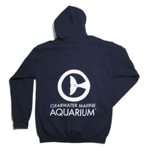 Clearwater Marine Aquarium Fleece Zip Up Hoodie