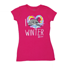 I Love Winter Juniors' Tee