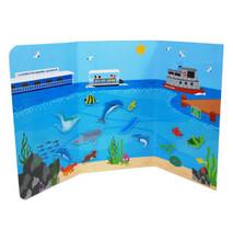 Clearwater Marine Aquarium Peel & Play Sticker Set