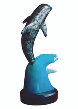 Winter the Dolphin Wave Statue