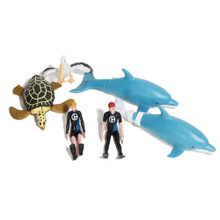 Dolphin Tale 2 Moveable Action Figure Playset