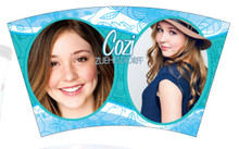 Cozi Zuehlsdorff Glittered Insulated Tumbler & Straw