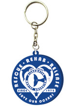 Rescue Authentic Retro PVC Keychain - Royal Blue