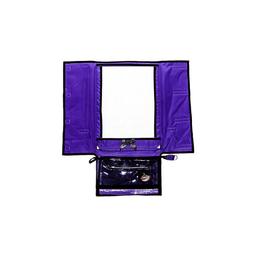 Purple Hanging Mirror