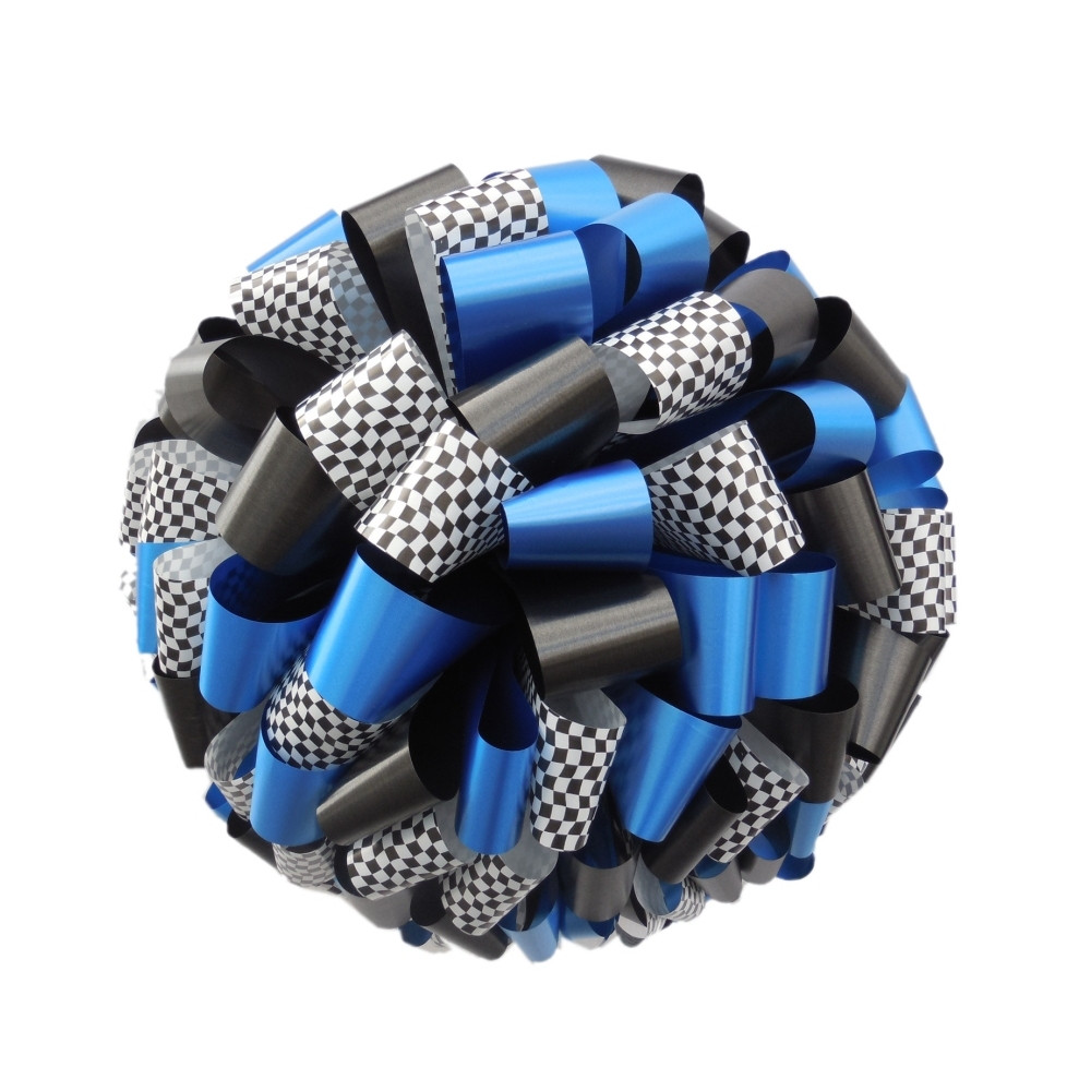 Checkered Car Bows